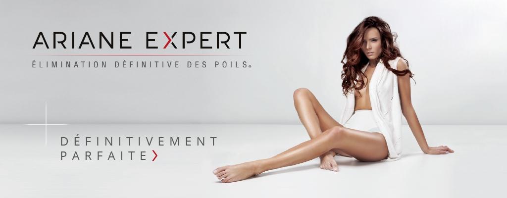 Épilations définitives Ariane Expert